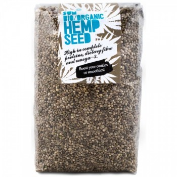 Organic Whole Hemp Seed